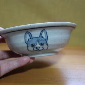 コーギー 陶器 染付 器 食器