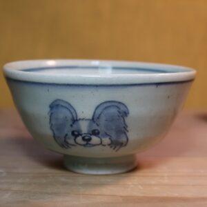 パピヨン 陶器 染付 器 食器