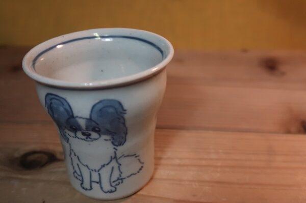 湯呑 パピヨン