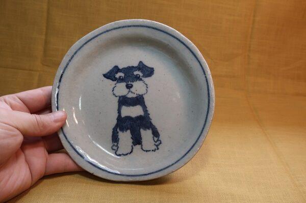 16cm皿 シュナウザー