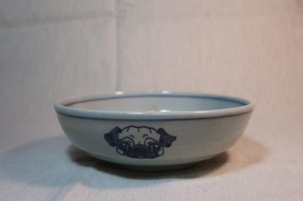 明正窯 陶器 ペット 食器 器 鉢 パグ