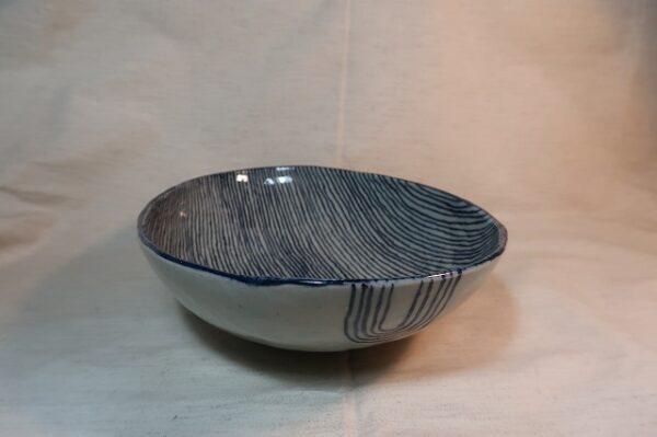 楕円鉢(大) トクサ