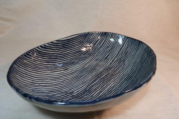 楕円鉢(小) トクサ