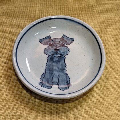 豆皿 黒シュナ