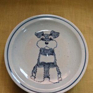 シュナウザー 皿